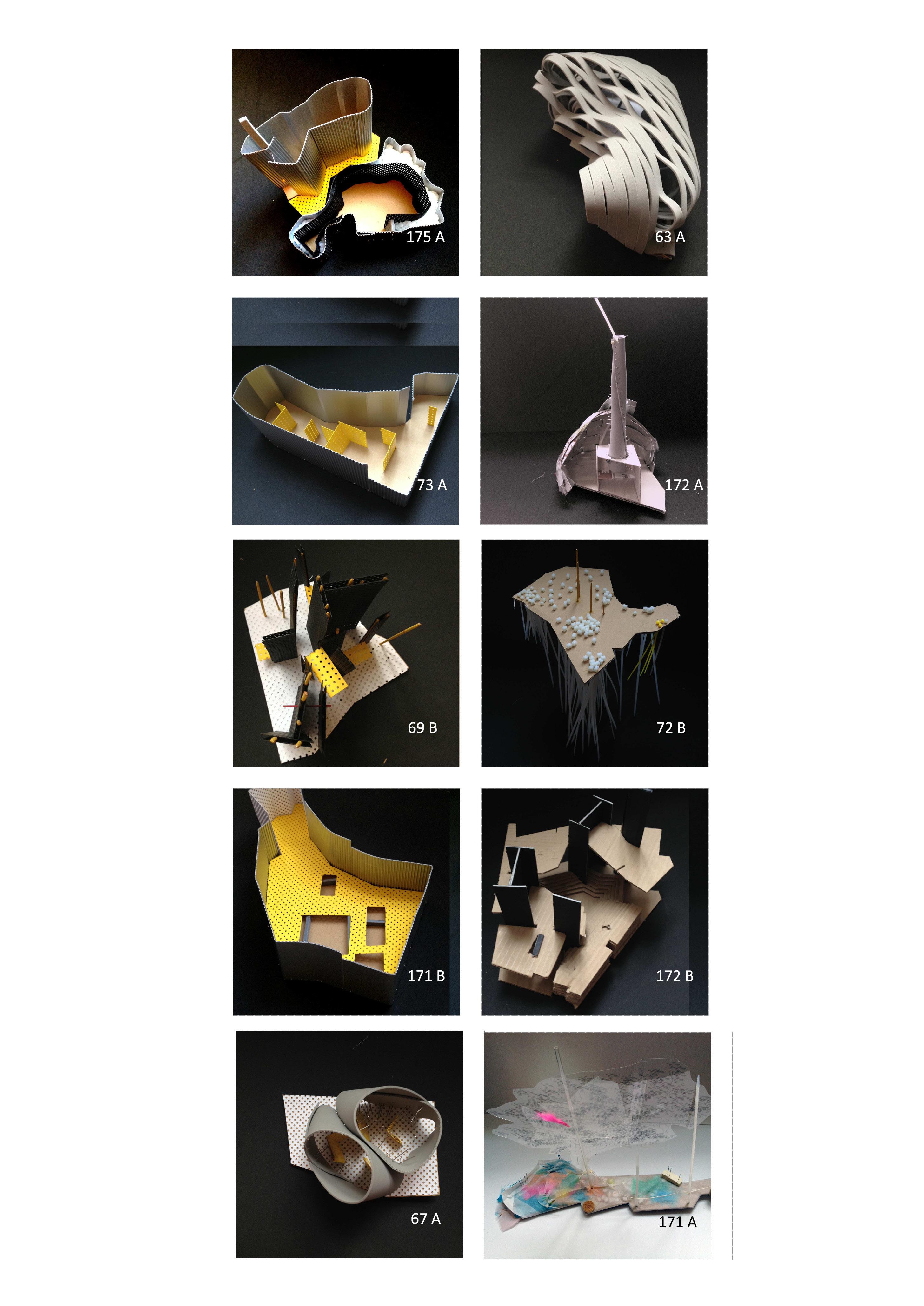 Maquetas de percheros / Rack models